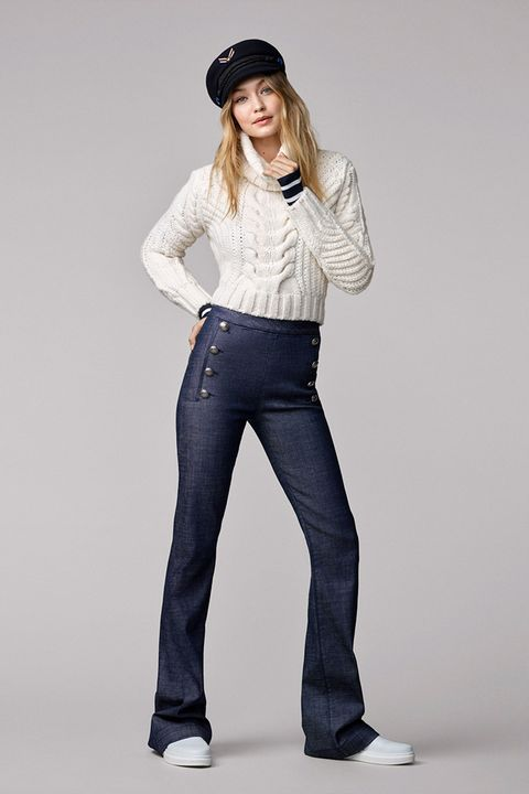 Clothing, Collar, Sleeve, Denim, Trousers, Jeans, Shoulder, Textile, Standing, Shoe,