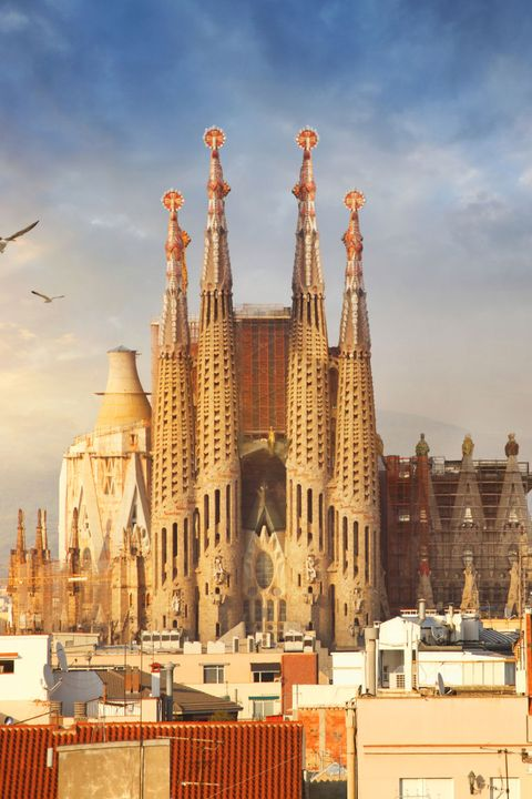 Buildings by Antoni Gaudi
