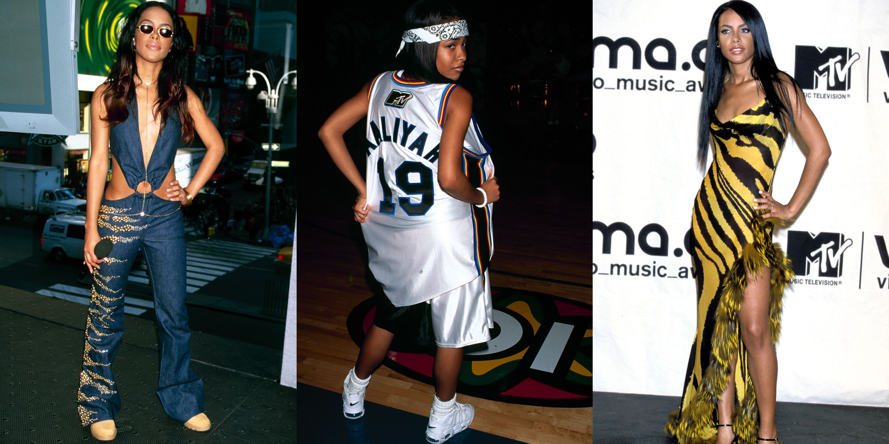 Aaliyah S Coolest Outfits Aaliyah Style