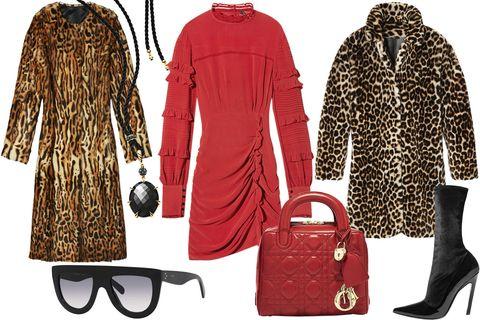 "<p><em>From left: Elizabeth and James coat, $2,155, 323-647-7111; Céline sunglasses, $415, 212-823-9590; David Yurman necklace, $2,800, <a href=""http://www.davidyurman.com/"" target=""_blank"">davidyurman.com</a>; Isabel Marant dress, $1,035, 212-219-2284; Dior bag, $3,000, 800-929-DIOR; Sandro coat, $3,245, <a href=""http://www.us.sandro-paris.com/"" target=""_blank"">us.sandro-paris.com</a>; </em><em>Balenciaga boot, $795, 212-206-0872.</em></p>"