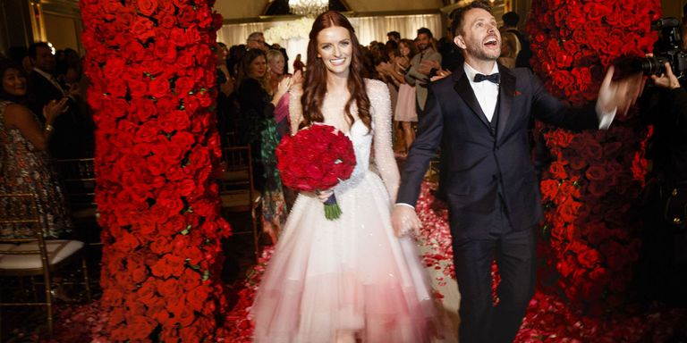 Lydia Hearst and Chris Hardwick\'s Wedding in Pasadena - Inside ...