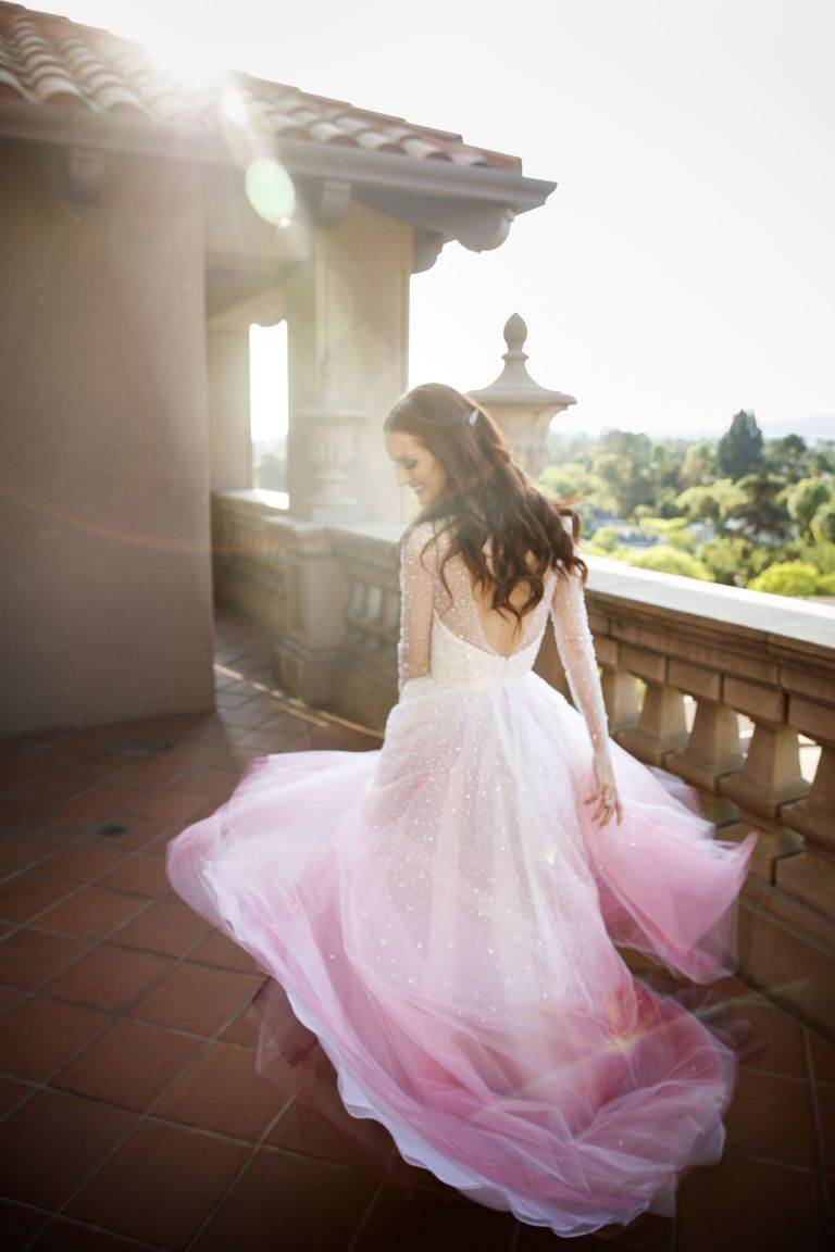 Lydia Hearst And Chris Hardwick S Wedding In Pasadena