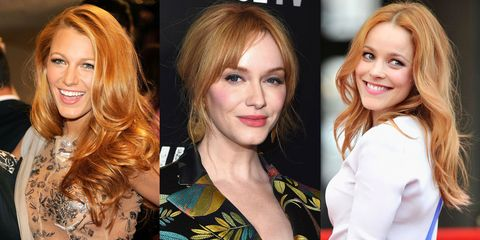 Best Strawberry Blonde Hair Color Shades Best Celebrity Strawberry