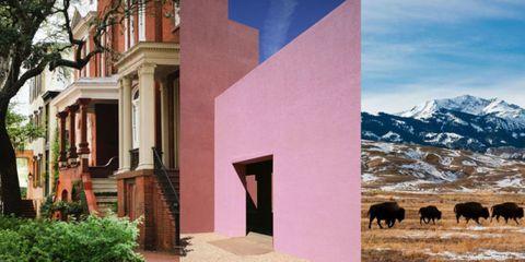 Property, Real estate, Facade, Bovine, Working animal, Grazing, Terrestrial animal, Door, Home, Livestock,