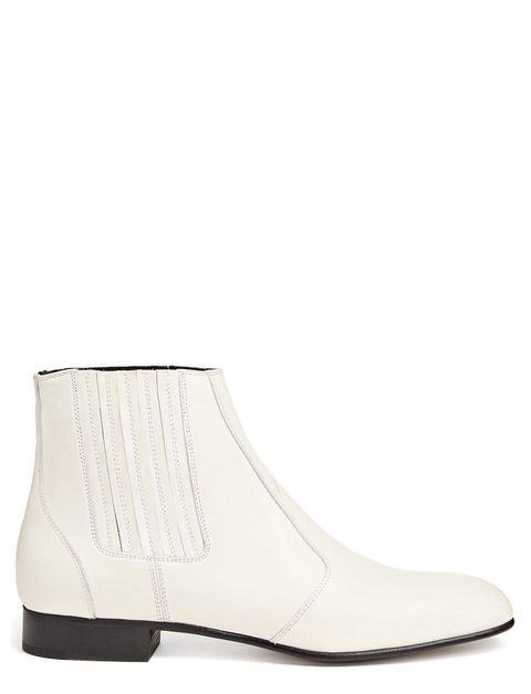 "<p><strong data-redactor-tag=""strong"" data-verified=""redactor"">Joseph </strong>boot, $750, <a href=""http://www.joseph-fashion.com/shoes/calf-leather-pixie-bootie/invt/w6b27jo2006020"" target=""_blank"">joseph-fashion.com</a>.</p>"