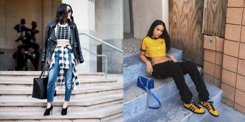 Clothing, Textile, Outerwear, Style, Street fashion, Denim, Stairs, Bag, Fashion, Electric blue,