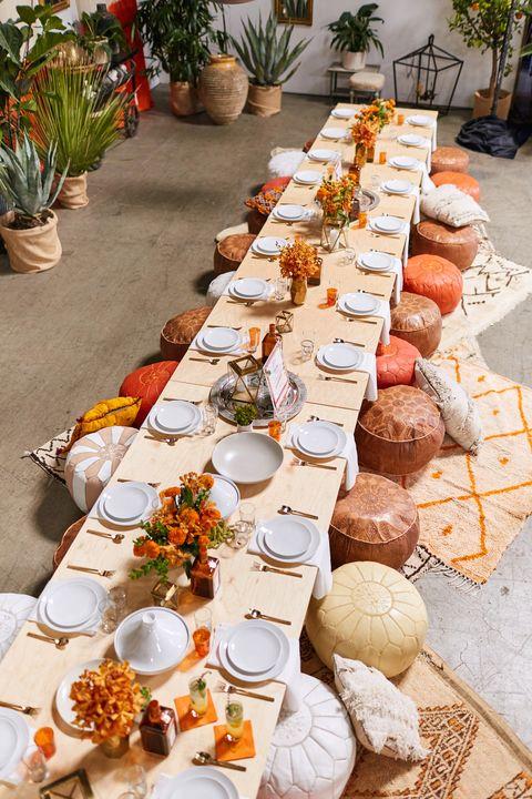 Flowerpot, Food, Cuisine, Meal, Orange, Dish, Tableware, Ingredient, Dishware, Brunch,