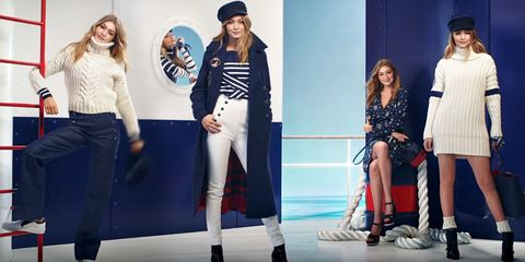 25714a6c See the Many Nautical Faces of Gigi Hadid in Her New Tommy Hilfiger Ad