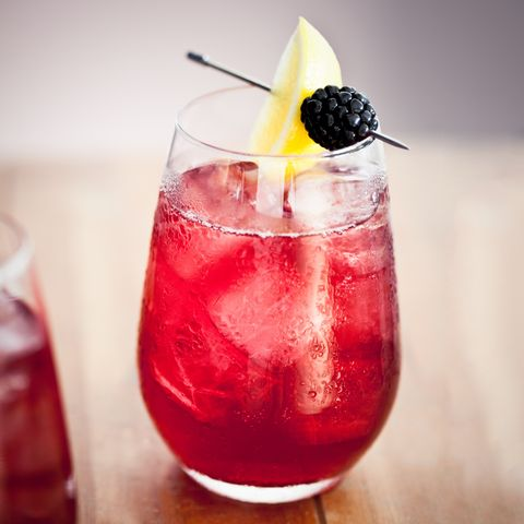 """<p>Yes, the horse race prior to the Kentucky Derby has its own cocktail—The Grey Goose Oaks Lily—and it's damn good, too.&nbsp;</p><p><strong data-redactor-tag=""""strong"""" data-verified=""""redactor"""">Ingredients:&nbsp;</strong></p><p>1 1/4 oz. Grey Goose Vodka &nbsp;</p><p>1 oz. Sweet and Sour Mix&nbsp;</p><p>1/4 oz. Triple Sec&nbsp;</p><p>3 oz. Cranberry&nbsp;Juice&nbsp;</p><p><strong data-redactor-tag=""""strong"""" data-verified=""""redactor"""">Directions:&nbsp;</strong></p><p>Once the ingredients are mixed, place the pinkish cocktail in an Official Oaks Lily® glass (stemless wine glass) with crushed ice, add a straw and garnish with a blackberry and lemon wedge.</p>"""