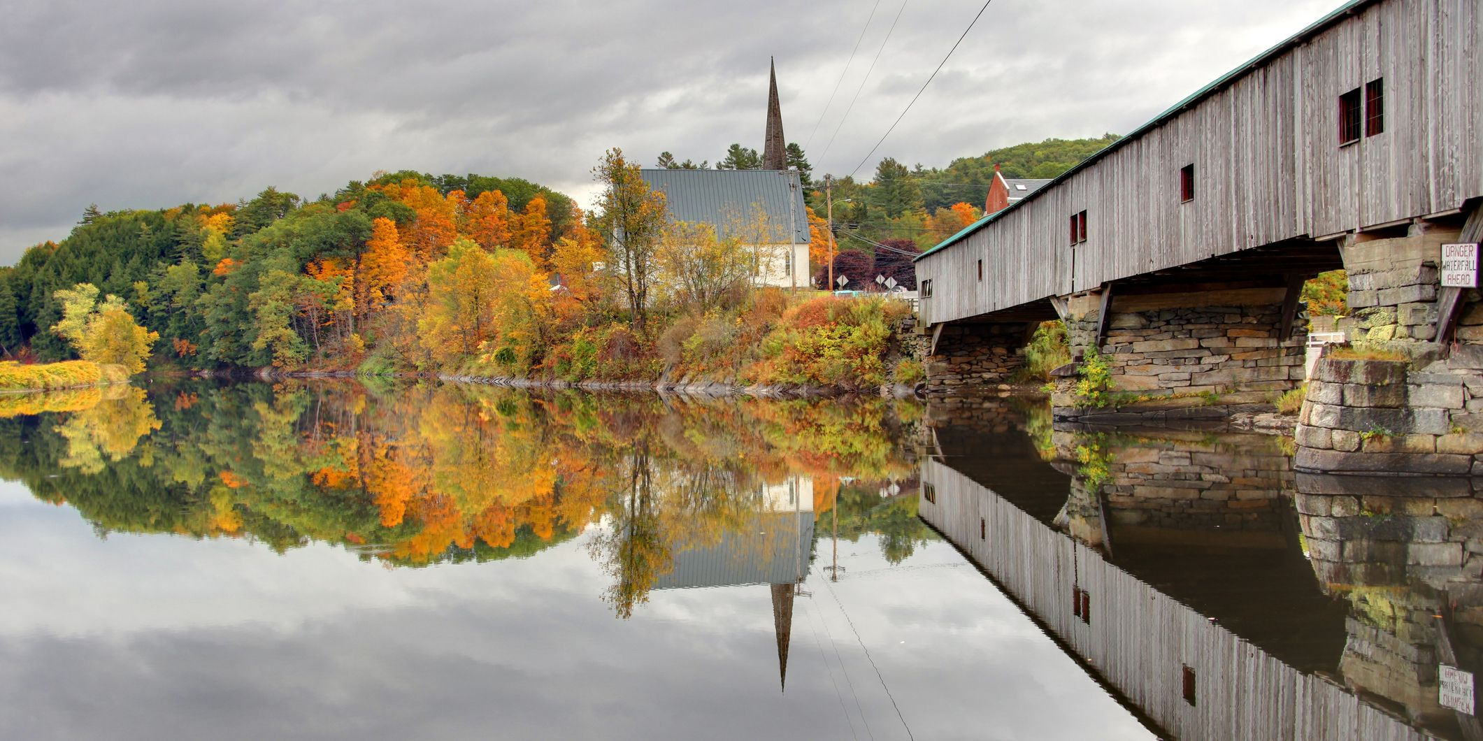 17 of the Prettiest Covered Bridges in America to Visit This Fall