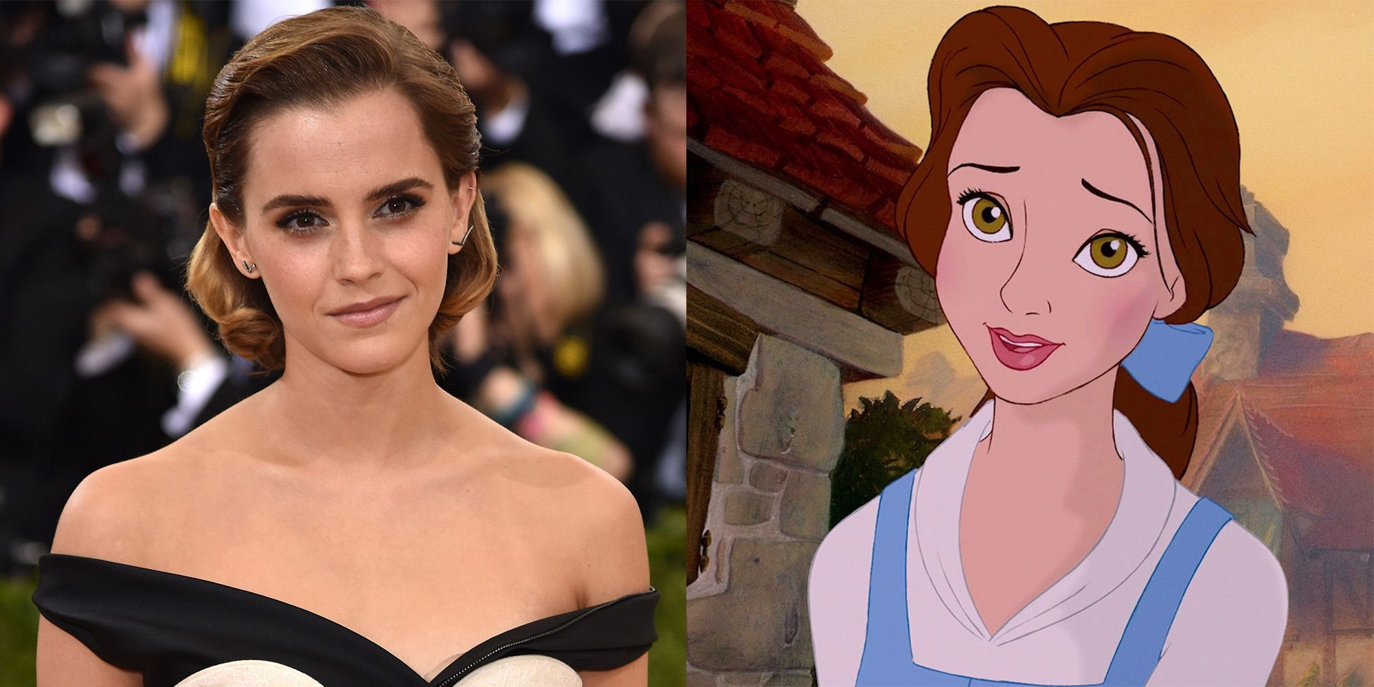 Emma Watson S Beauty And The Beast Costume New Dress For Emma Watson S Belle