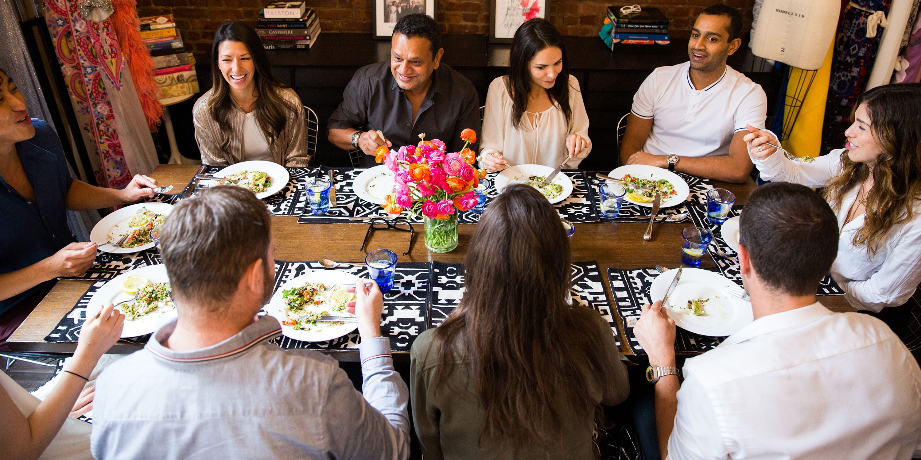 EAT CHIC: At Lunch with Naeem Khan