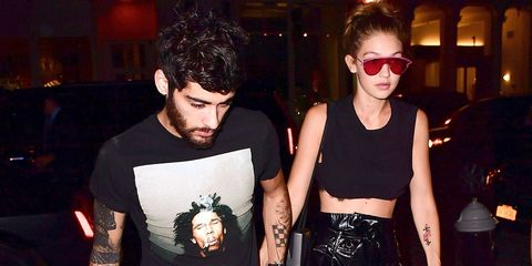 """Gigi Hadid Opens Up About Dating Zayn Malik and Why She Loves his """"British Charm"""""""