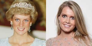 Princess Diana S Niece Won T Talk About The Royals Kitty Spencer Arrived At Wedding