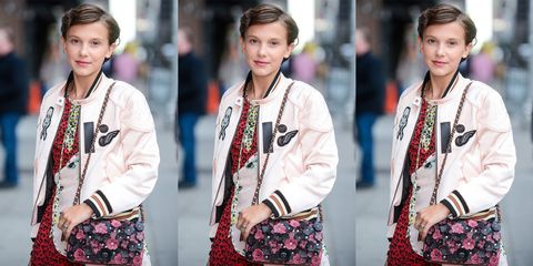Stranger Things' Millie Bobby Brown Is Your Next Fashion Obsession
