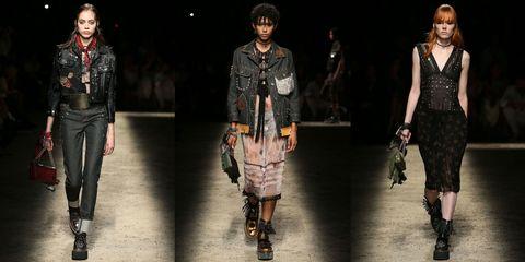 Clothing, Footwear, Leg, Textile, Outerwear, Pattern, Style, Fashion model, Jacket, Street fashion,
