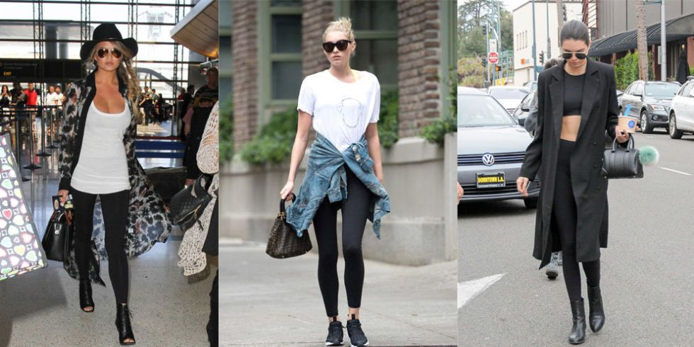 15 Stylish Ways to Wear Leggings This Fall , Cute Leggings