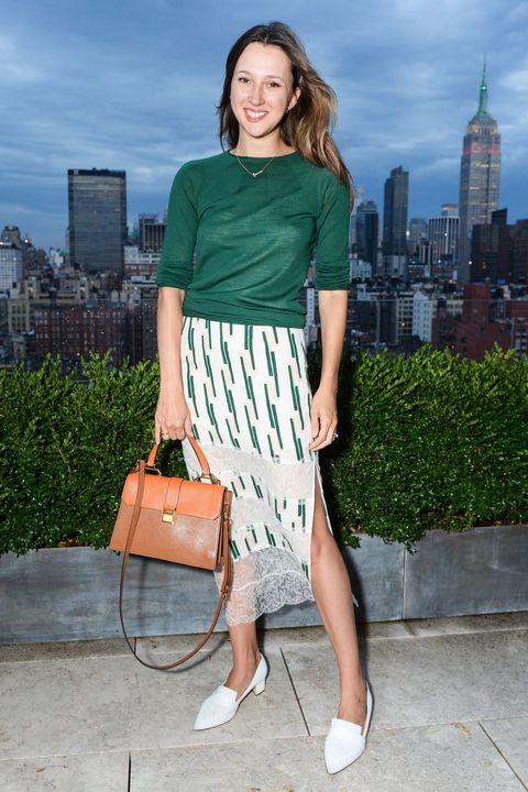 Brown, Shoulder, Bag, Textile, Tower, Style, Fashion accessory, Pattern, Street fashion, Fashion,