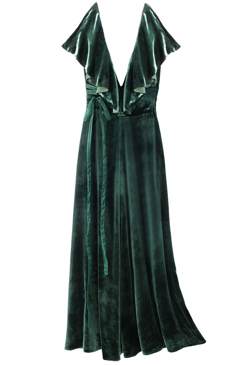 """<p>""""I love dresses because they are quick and easy, and Valentino always offers something special. Velvet is going to be huge this season. And green is my favorite color to wear.""""<span class=""""redactor-invisible-space"""" data-verified=""""redactor"""" data-redactor-tag=""""span"""" data-redactor-class=""""redactor-invisible-space"""">—<span class=""""redactor-invisible-space"""" data-verified=""""redactor"""" data-redactor-tag=""""span"""" data-redactor-class=""""redactor-invisible-space""""> <strong data-redactor-tag=""""strong"""" data-verified=""""redactor"""">Glenda Bailey, Editor In Chief, on her Hero pick</strong></span></span></p>"""