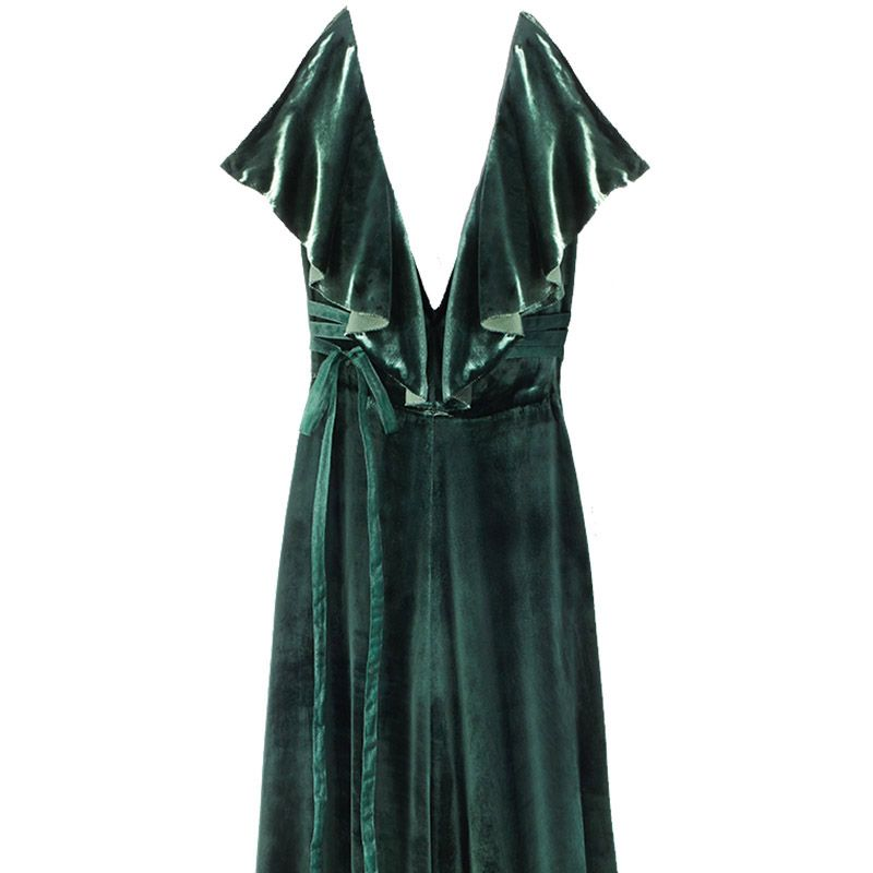 "<p>""I love dresses because they are quick and easy, and Valentino always offers something special. Velvet&nbsp&#x3B; is going to be huge this season. And green is my favorite color to wear.""&nbsp&#x3B;<span class=""redactor-invisible-space"" data-verified=""redactor"" data-redactor-tag=""span"" data-redactor-class=""redactor-invisible-space"">—<span class=""redactor-invisible-space"" data-verified=""redactor"" data-redactor-tag=""span"" data-redactor-class=""redactor-invisible-space""> <strong data-redactor-tag=""strong"" data-verified=""redactor"">Glenda Bailey, Editor In Chief, on her Hero pick</strong></span></span></p>"