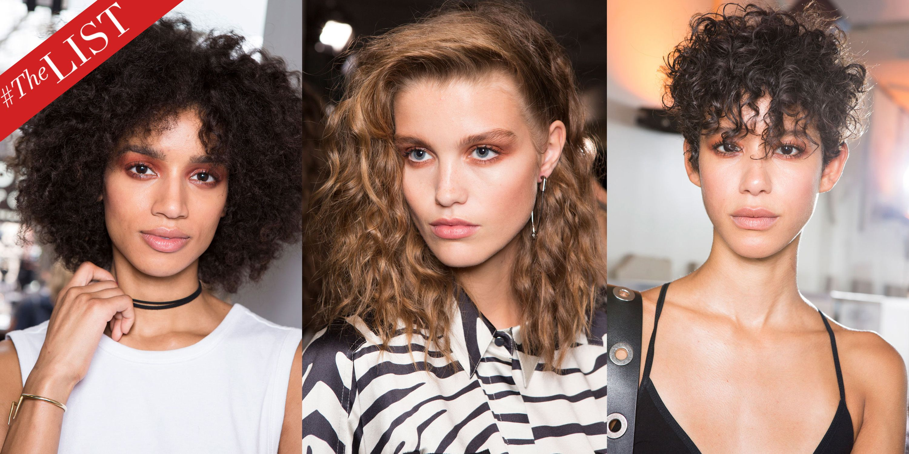Curly Hair Ideas - Models With Curly Hair Fashion Week Runways