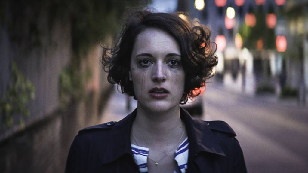 "<p><span data-verified=""redactor"" data-redactor-tag=""span"" style=""background-color: initial;"" rel=""background-color: initial;"" data-redactor-style=""background-color: initial;"">A cynical, sardonic young woman (Phoebe Waller-Bridge) deals with sex, dating and her ridiculous family while coping with the death of her best friend. </span></p><p><span data-verified=""redactor"" data-redactor-tag=""span"" style=""background-color: initial;"" rel=""background-color: initial;"" data-redactor-style=""background-color: initial;""></span><em data-verified=""redactor"" data-redactor-tag=""em""><a href=""https://www.youtube.com/watch?v=I5Uv6cb9YRs"" target=""_blank"">Fleabag</a></em><span class=""redactor-invisible-space"" data-verified=""redactor"" data-redactor-tag=""span"" data-redactor-class=""redactor-invisible-space""> is now streaming on Amazon.</span><br></p>"