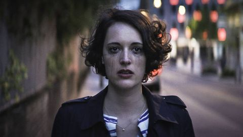 """<p><span data-verified=""""redactor"""" data-redactor-tag=""""span"""" style=""""background-color: initial;"""" rel=""""background-color: initial;"""" data-redactor-style=""""background-color: initial;"""">A cynical, sardonic young&nbsp;woman&nbsp;(Phoebe Waller-Bridge) deals with sex, dating and her ridiculous family&nbsp;while coping with the death of her best friend.&nbsp;</span></p><p><span data-verified=""""redactor"""" data-redactor-tag=""""span"""" style=""""background-color: initial;"""" rel=""""background-color: initial;"""" data-redactor-style=""""background-color: initial;""""></span><em data-verified=""""redactor"""" data-redactor-tag=""""em""""><a href=""""https://www.youtube.com/watch?v=I5Uv6cb9YRs"""" target=""""_blank"""">Fleabag</a></em><span class=""""redactor-invisible-space"""" data-verified=""""redactor"""" data-redactor-tag=""""span"""" data-redactor-class=""""redactor-invisible-space""""> is now streaming on Amazon.</span><br></p>"""