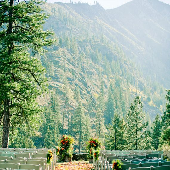 """<p>A wedding beneath the pines is the perfect way to bridge summer and winter. The&nbsp&#x3B;<a href=""""http://www.sleepinglady.com/"""" target=""""_blank"""" embed_count=""""1"""">Sleeping Lady</a> resort in Leavenworth, Washington&nbsp&#x3B;offers seven venues for your wedding and reception.&nbsp&#x3B;Your dreams will be accomodated, whether you're looking to exchange vows atop a picturesque mountainside or wish to be serenaded mid-ceremony by a babbling brook and running waterfall.</p>"""