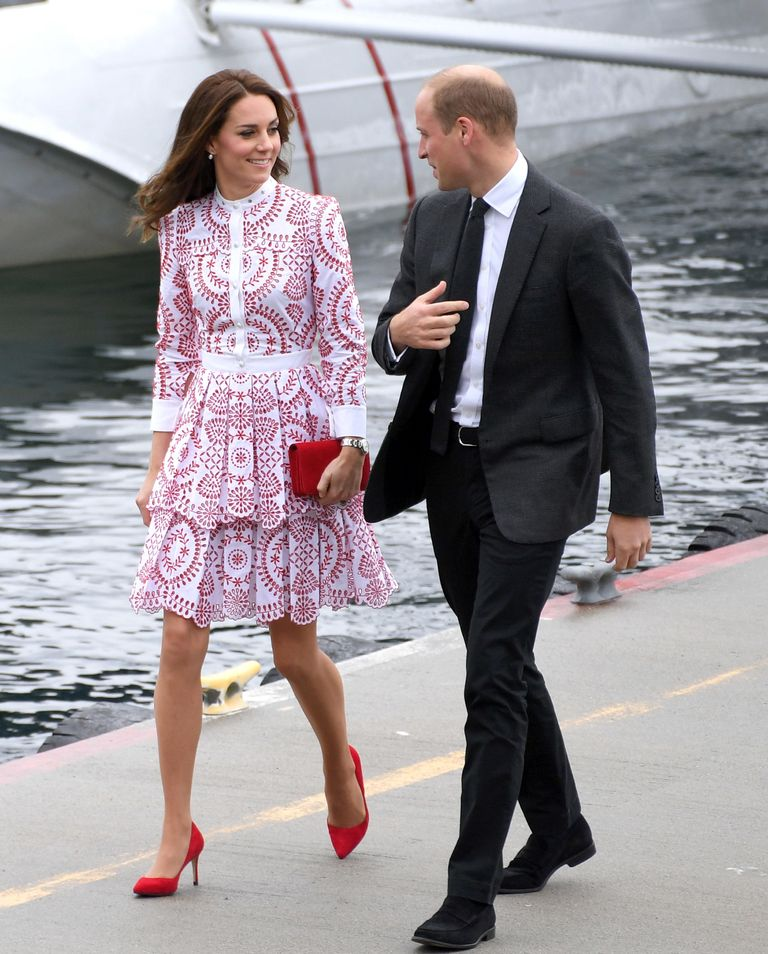 Kate Middleton dressed the part for her royal tour with