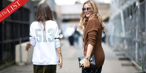#TheLIST: Shop The Best Street Style From New York And London Fashion Week
