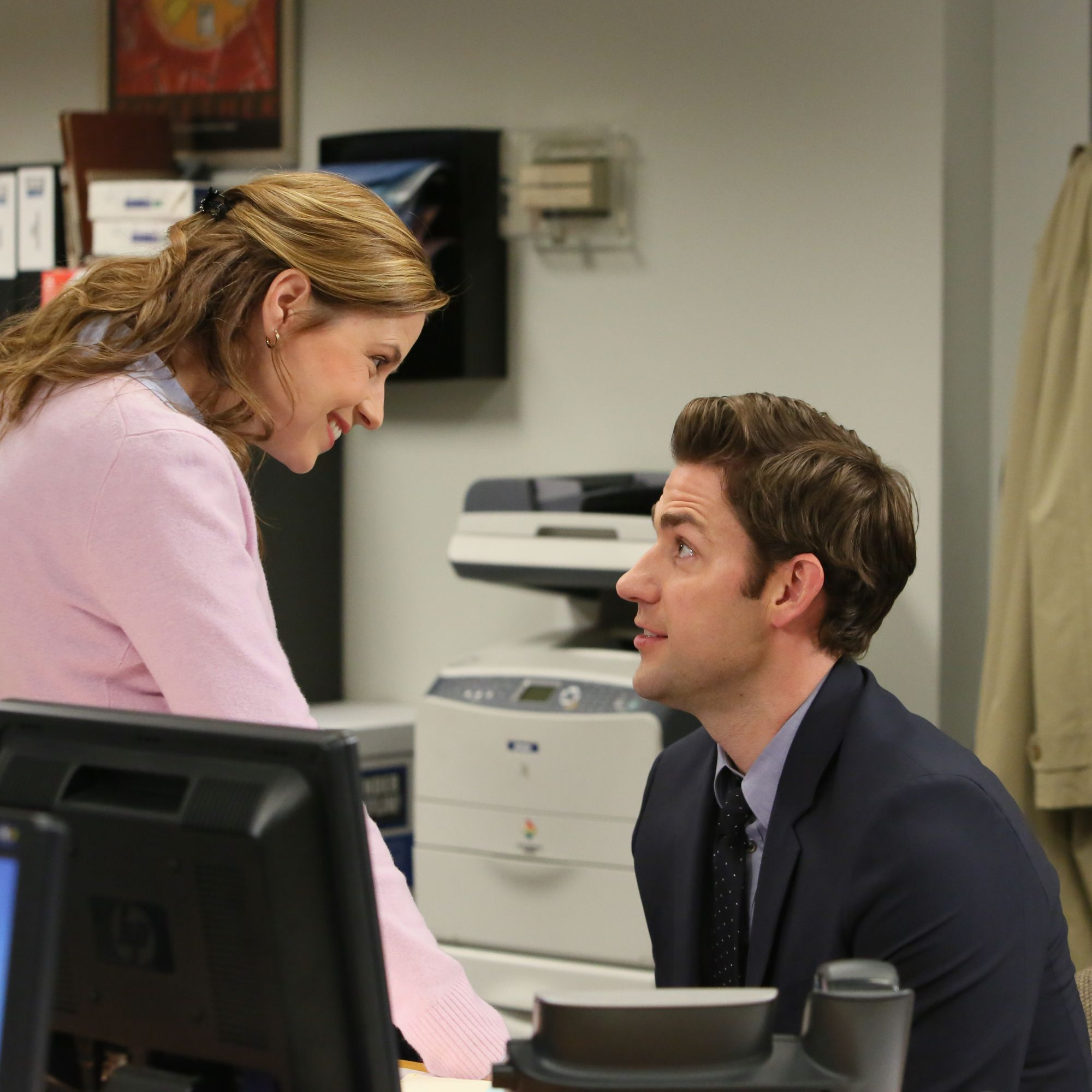 <p>After years of&nbsp&#x3B;knowing looks, air high-fives&nbsp&#x3B;and painfully adorable missed opportunities, Jim and Pam finally got together and proved love can happen in the most unlikely of places.&nbsp&#x3B;</p>