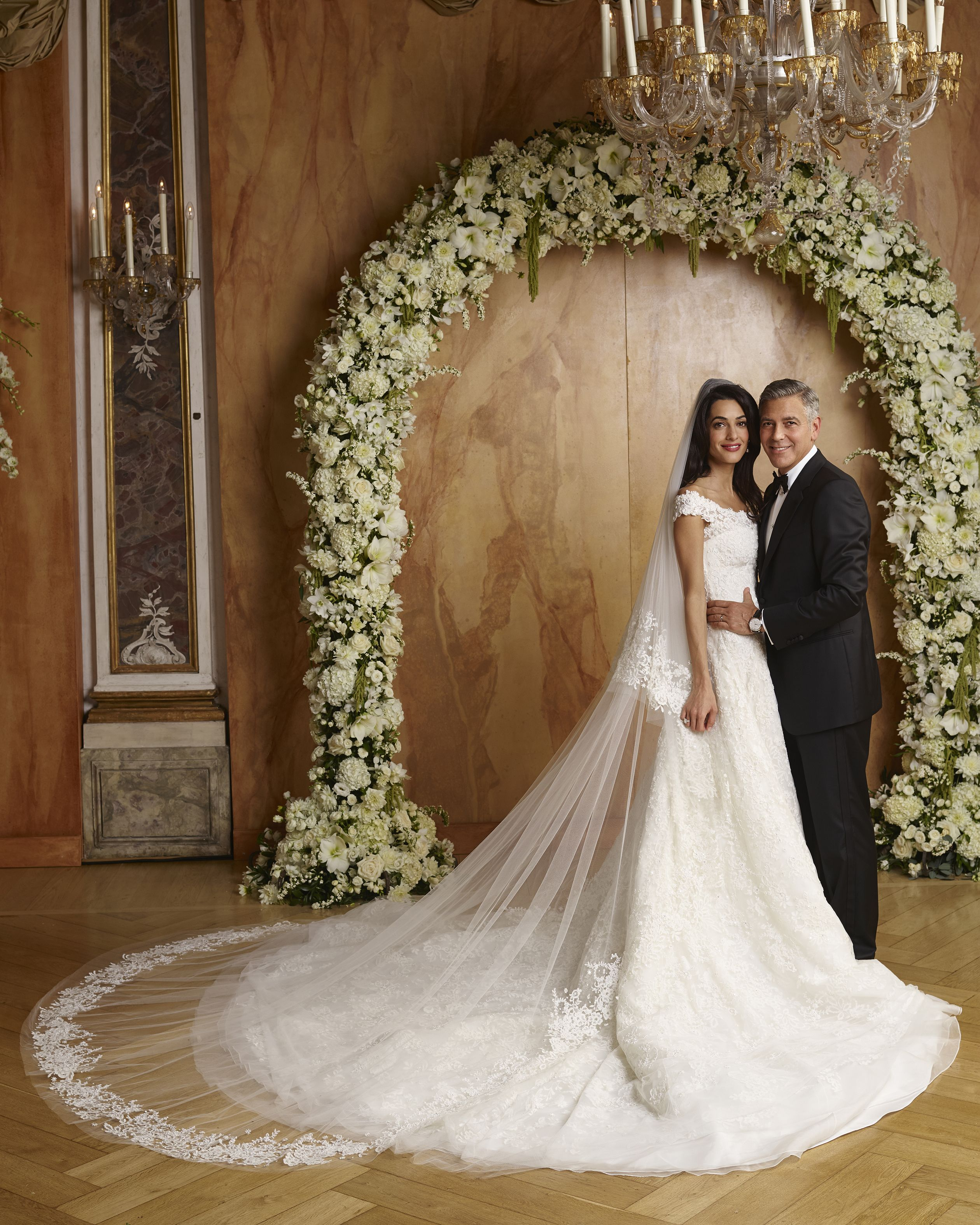 332939b9e06ea 50 Iconic Celebrity Wedding Dresses - Most Memorable Wedding Gowns in  History