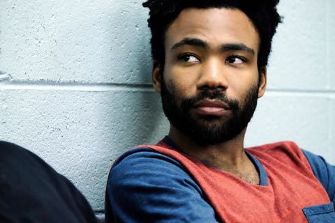 """<p>Created by and starring Donald Glover,&nbsp;<em data-verified=""""redactor"""" data-redactor-tag=""""em"""">Atlanta</em><span class=""""redactor-invisible-space"""" data-verified=""""redactor"""" data-redactor-tag=""""span"""" data-redactor-class=""""redactor-invisible-space""""> tells the story of&nbsp;Earn (Glover), an Ivy League dropout attempting to launch his cousin&nbsp;(Brian Tyree Henry<span class=""""redactor-invisible-space"""" data-verified=""""redactor"""" data-redactor-tag=""""span"""" data-redactor-class=""""redactor-invisible-space"""">)</span>&nbsp;into rap stardom.</span></p><p><span class=""""redactor-invisible-space"""" data-verified=""""redactor"""" data-redactor-tag=""""span"""" data-redactor-class=""""redactor-invisible-space""""><em data-verified=""""redactor"""" data-redactor-tag=""""em""""><a href=""""https://youtu.be/N-KdOvyZlQo"""" target=""""_blank"""">Atlanta</a>&nbsp;</em><span class=""""redactor-invisible-space"""" data-verified=""""redactor"""" data-redactor-tag=""""span"""" data-redactor-class=""""redactor-invisible-space"""">airs Tuesdays at 10 PM EST on FX.</span><br></span></p>"""
