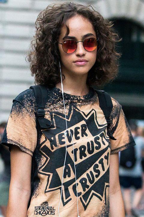 Clothing, Eyewear, Glasses, Vision care, Sleeve, Sunglasses, Jewellery, Style, Street fashion, Fashion accessory,