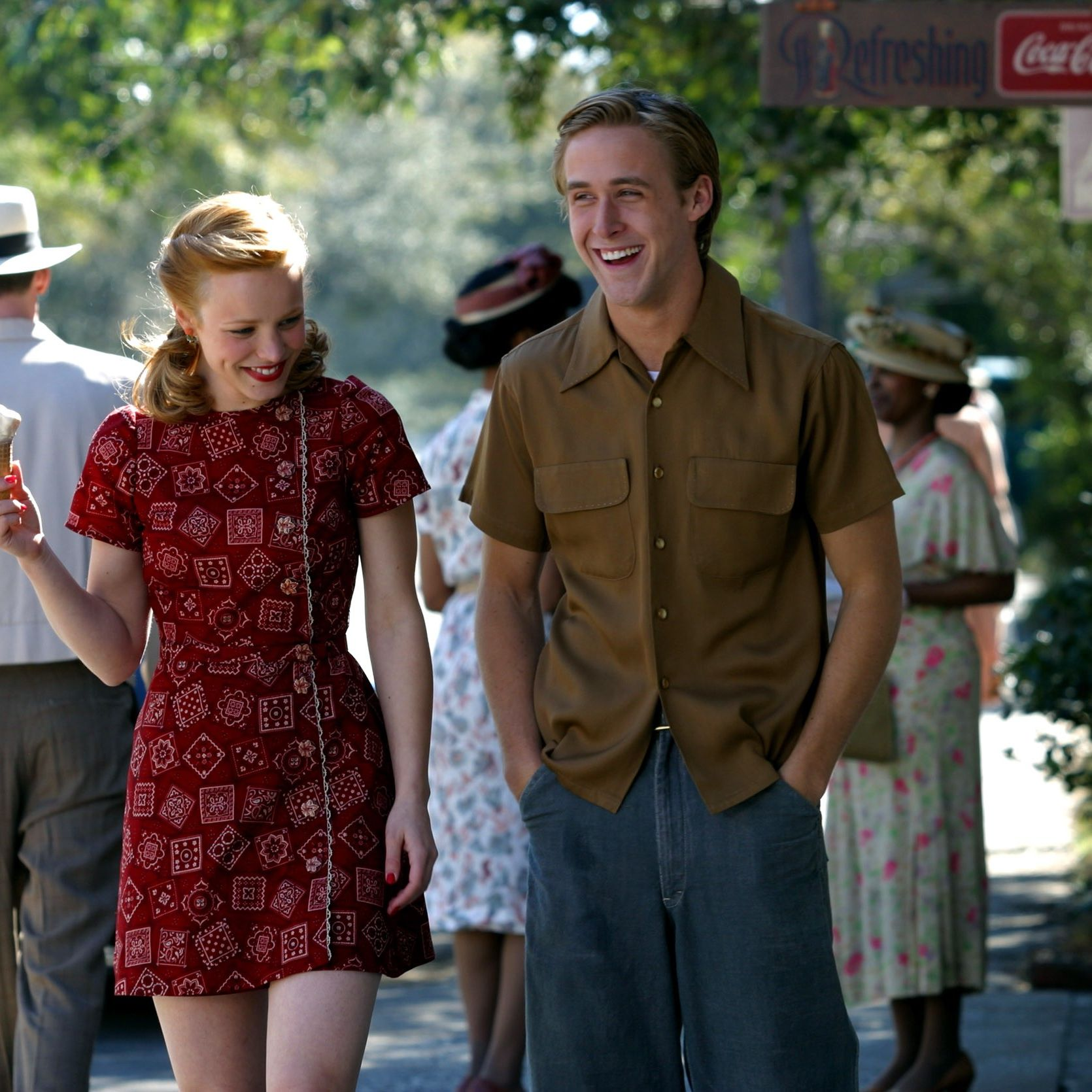 """<p>It wasn't over. It still isn't over. And honestly, it never will be—at least not for&nbsp&#x3B;us. Noah and Allie's is a love story for the ages. Not only does it hit you in&nbsp&#x3B;<em data-redactor-tag=""""em"""" data-verified=""""redactor"""">all</em><span class=""""redactor-invisible-space"""" data-verified=""""redactor"""" data-redactor-tag=""""span"""" data-redactor-class=""""redactor-invisible-space""""> the feels, from their too-cute-to-handle&nbsp&#x3B;summer fling to their heart-wrenching&nbsp&#x3B;final moments spent together, but <em data-redactor-tag=""""em"""" data-verified=""""redactor"""">The Notebook</em> also sparked the off-screen relationship between Rachel McAdams and Ryan Gosling (which we wish was still a thing, honestly).&nbsp&#x3B;</span></p>"""