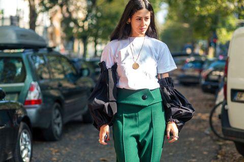 43937f115cff Best Milan Fashion Week Street Style Spring 2017 - Milan Street Style