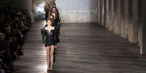 Fashion, Fashion model, Waist, Model, Leather, Fashion design, Digital compositing, Haute couture, Cg artwork, Foot,