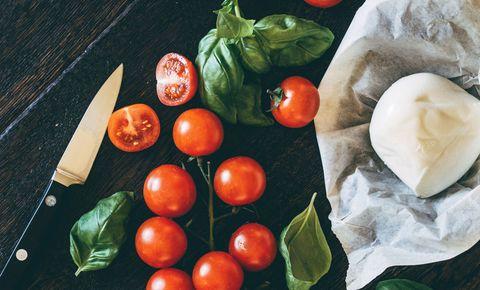 Food, Vegan nutrition, Produce, Ingredient, Vegetable, Tomato, Natural foods, Fruit, Whole food, Food group,