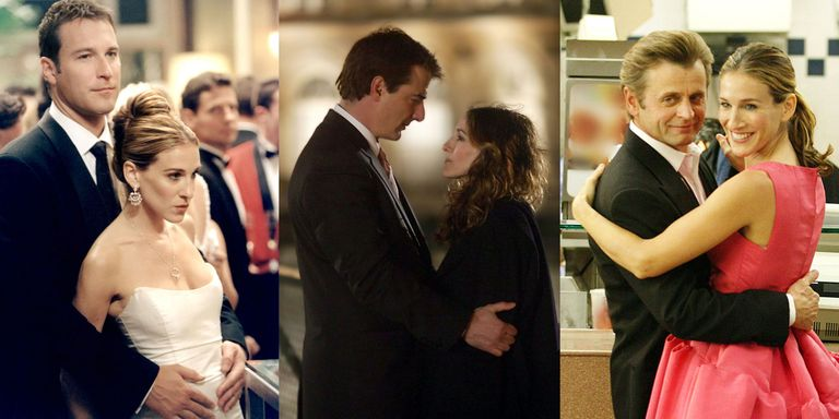 Carrie Bradshaw's Best Boyfriends on ' and the City' - Ranking ...