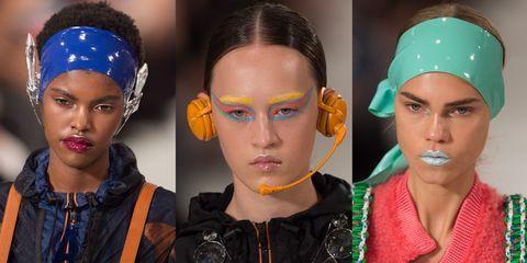 Event, Forehead, Eyebrow, Eyelash, Style, Headgear, Fashion, Orange, Temple, Art,