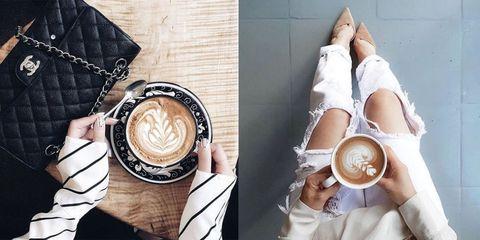 Cup, Serveware, Coffee cup, Drinkware, Dishware, Single-origin coffee, Teacup, Caffè macchiato, Espresso, Coffee,