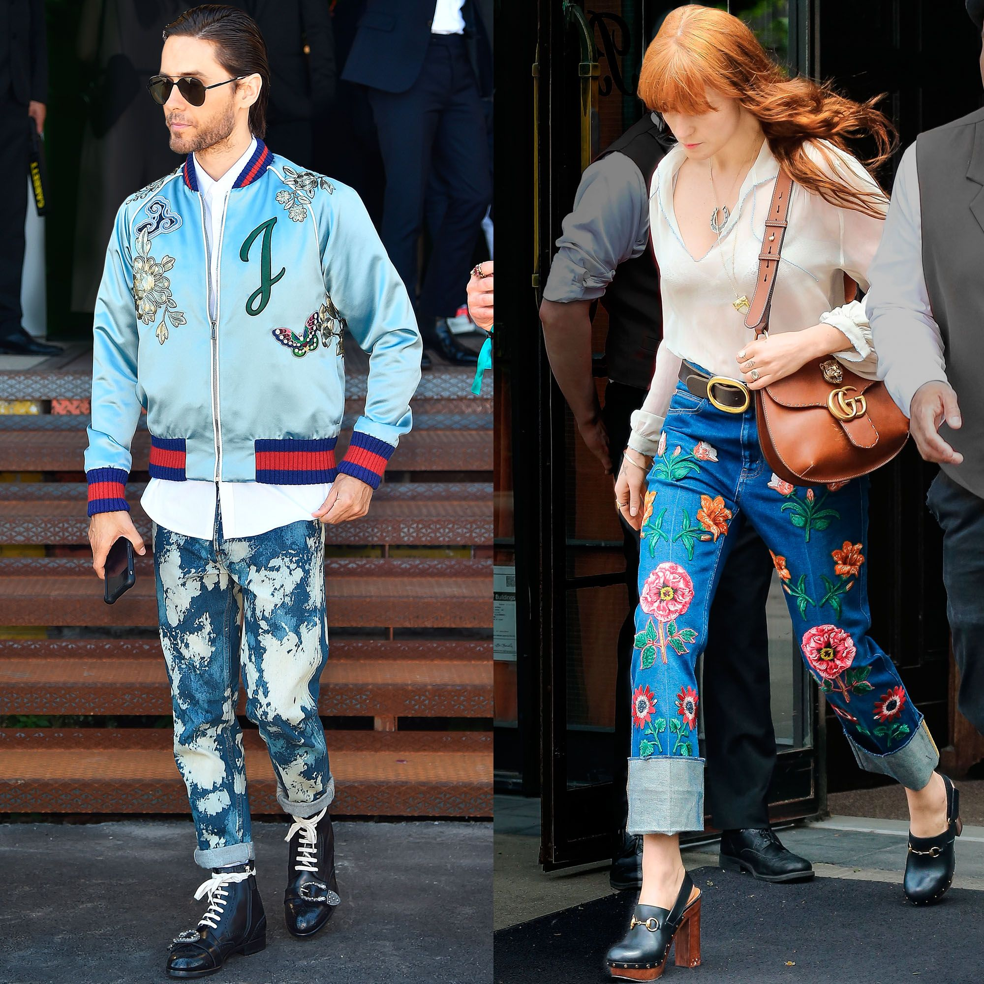 """<p>Ornate embroidery has been Alessandro Michele's m.o. since he took the reins as creative director of Gucci last year. Bags and bombers aside, denim served as his most recent canvas. Think faded jean jackets with satin collars and light-washed minis covered in flora and fauna that are already favored by his famous fans.<span class=""""redactor-invisible-space"""" data-verified=""""redactor"""" data-redactor-tag=""""span"""" data-redactor-class=""""redactor-invisible-space""""></span></p>"""