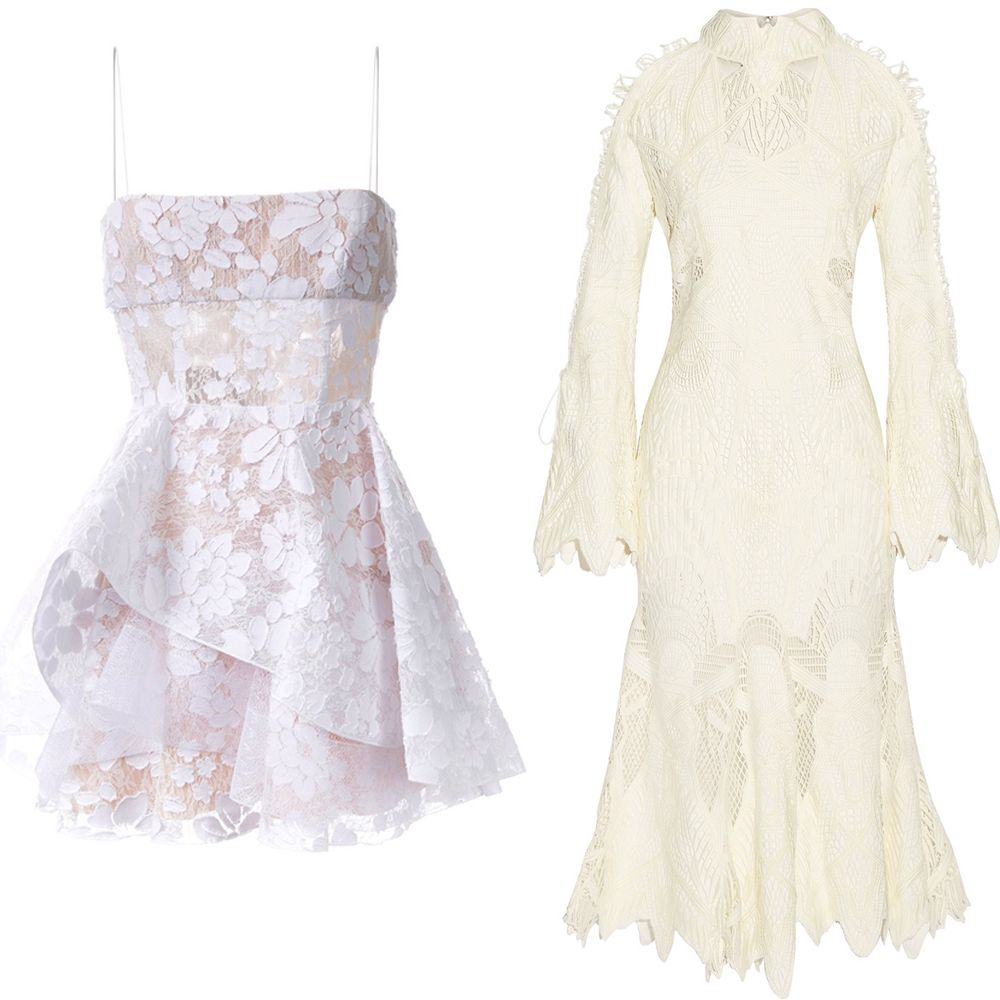 "<p>Gravitate towards all the details that have this style working so well–from the runways to street style. Ruffles, high necklines, layered skirts and flared sleeves are all sure-fire signs you're heading in the right direction.&nbsp&#x3B;<strong data-redactor-tag=""strong"" data-verified=""redactor"">Alessandra Rich</strong>&nbsp&#x3B;""Nymph"" Chantilly lace gown, $2,730,&nbsp&#x3B;<a href=""https://www.net-a-porter.com/us/en/product/756115/alessandra_rich/nymph-silk-chiffon-trimmed-chantilly-lace-gown"" target=""_blank"">net-a-porter.com</a>&#x3B; <strong data-redactor-tag=""strong"" data-verified=""redactor"">Alex Perry</strong>&nbsp&#x3B;""Alete"" dress, $1,042,&nbsp&#x3B;<a href=""https://www.farfetch.com/shopping/women/Alex-Perry-Alete-dress-item-11656238.aspx?fsb=1&amp&#x3B;utm_source=polyvore.com&amp&#x3B;utm_medium=affiliate&amp&#x3B;utm_campaign=Dresses+Group+G_desktop"" target=""_blank"">farfetch.com</a>&#x3B; <strong data-redactor-tag=""strong"" data-verified=""redactor"">Jonathan Simkhai</strong> guipure lace gown, $1,495,&nbsp&#x3B;<a href=""https://www.net-a-porter.com/us/en/product/755562/Jonathan_Simkhai/guipure-lace-gown"" target=""_blank"">net-a-porter.com</a>&#x3B; <strong data-redactor-tag=""strong"" data-verified=""redactor"">Alessandra Rich&nbsp&#x3B;</strong>""In The Mood For Love"" Chantilly lace gown, $2,900,&nbsp&#x3B;<a href=""https://www.net-a-porter.com/us/en/product/756119/alessandra_rich/in-the-mood-for-love-chantilly-lace-gown"" target=""_blank"">net-a-porter.com</a>.<span class=""redactor-invisible-space"" data-verified=""redactor"" data-redactor-tag=""span"" data-redactor-class=""redactor-invisible-space""></span></p>"