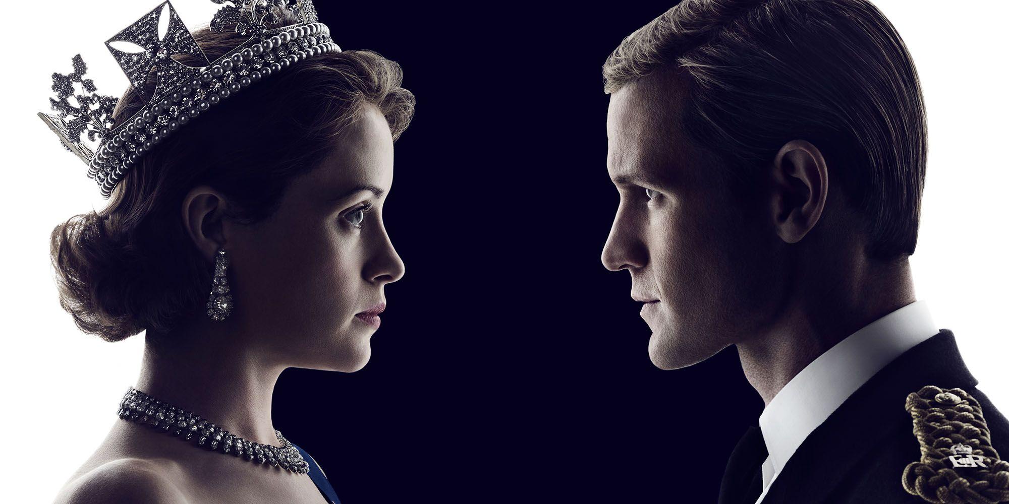 Resultado de imagem para poster the crown claire foy