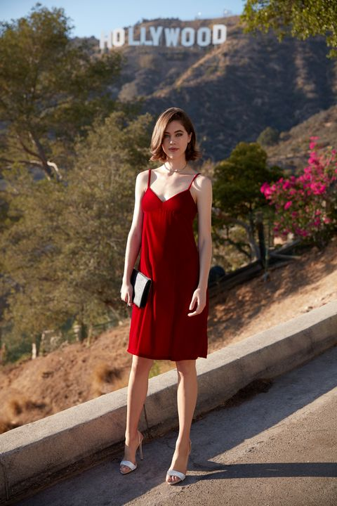 """<p>It's high time velvet made its comeback; luxurious,&nbsp;subversive and, in crimson, both innocent and rebellious. Wear it to dinner with your flashy&nbsp;finance friends—then escape to an underground rock show where the&nbsp;boys wear guy-liner and the bartender mixes up&nbsp;killer cocktails. </p><p><br> </p><p><em data-redactor-tag=""""em"""">Zara </em><em data-redactor-tag=""""em"""">Velvet Dress, $49.90, <a href=""""http://www.zara.com/us/en/woman/dresses/velvet-dress-c269185p3817052.html"""" target=""""_blank"""">zara.com</a>; Giuseppe Zanotti Coline Slingback Sandal, $995, <a href=""""http://shop.nordstrom.com/s/giuseppe-zanotti-coline-slingback-sandal-women/4394508?origin=keywordsearch-personalizedsort&amp;fashioncolor=RED"""" target=""""_blank"""">nordstrom.com</a>; Alexis Bittar Crystal Spike Choker Necklace, $255, <a href=""""http://www.neimanmarcus.com/Alexis%C2%ADBittar%C2%ADCrystal%C2%ADSpike%C2%ADChoker%C2%ADNecklace/prod193380087/p.prod?icid=&amp;s%20earchType=MAIN&amp;rte=%2Fsearch.jsp%3Ffrom%3DbrSearch%26request_type%3Dsearch%26search_type%20%3Dkeyword%26q%3Dalexis+bittar&amp;eItemId=prod193380087&amp;cmCat=search&amp;tc=158&amp;currentItemCount=1%2015&amp;q=alexis+bittar&amp;searchURL=/search.jsp%3Ffrom%3DbrSearch%26start%3D0%26rows%3D30%26q%3%20Dalexis+bittar%26l%3Dalexis+bittar%26request_type%3Dsearch%26search_type%3Dkeyword"""" target=""""_blank"""">neimanmarcus.com</a>; Salvatore Ferragamo&nbsp;Miss Vara Clutch, $750, <a href=""""http://shop.nordstrom.com/s/salvatore-ferragamo-miss-vara-clutch/3959554?origin=category-personalizedsort&amp;fashioncolor=NERO"""" target=""""_blank"""">nordstrom.com</a></em></p>"""