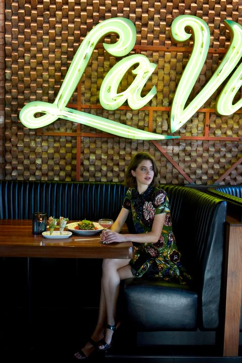 "<p>All dressed up and nowhere to go—except a favorite local haunt? A low-key night out with friends doesn't mean scaling down the style quotient. If you're in full-on beads and sequins,&nbsp;everyone will think you've just stepped off the red carpet for an emergency bite and sip—and&nbsp;there's nothing more chic&nbsp;than a girl who knows what she wants&nbsp;and goes for it. </p><p><br> </p><p><em data-redactor-tag=""em"">Burberry Sequin Shirt Dress, $6500, <a href=""https://us.burberry.com/sequin-shirt-dress-p45447021"" target=""_blank"">burberry.com</a>; Christian Louboutin Miziggoo Spiked 120mm Red Sole Sandal, $1095, <a href=""http://www.neimanmarcus.com/Christian-Louboutin-Miziggoo-Spiked-120mm-Red-Sole-Sandal-Black-Shoes/prod188350016_cat39620738__/p.prod?icid=&amp;searchType=EndecaDrivenCat&amp;rte=%252Fcategory.jsp%253FitemId%253Dcat39620738%2526pageSize%253D120%2526No%253D0%2526refinements%253D&amp;eItemId=prod188350016&amp;cmCat=product"" target=""_blank"">neimanmarcus.com</a>; Seoul Little 24K Gold Plated Circle Earring,&nbsp;$48, <a href=""http://www.urbanoutfitters.com/urban/catalog/productdetail.jsp?id=37943883&amp;category=W_ACC_JEWELRY"" target=""_blank"">urbanoutfitters.com</a></em></p>"