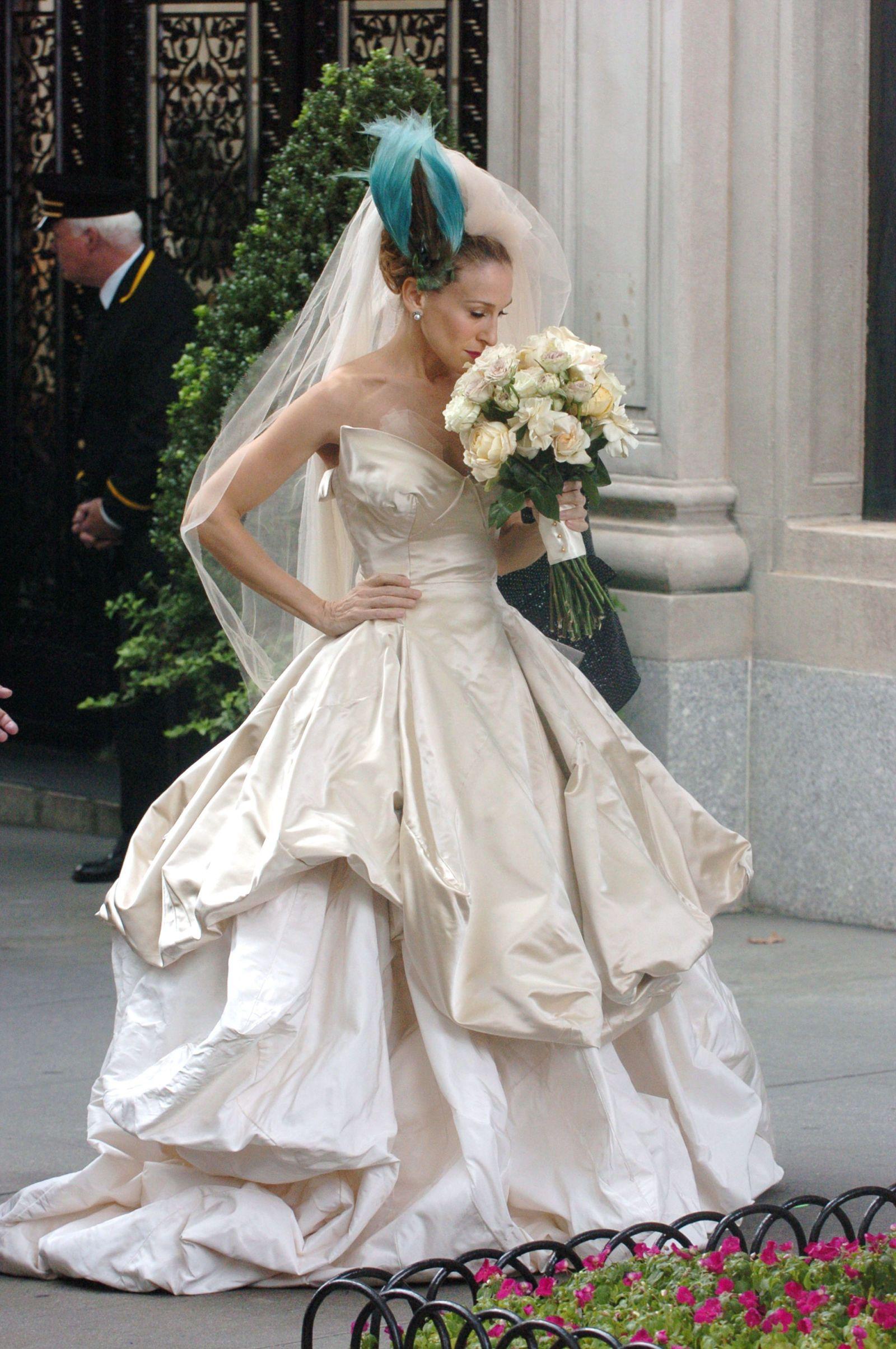 Brides Wedding Dress Parker New York