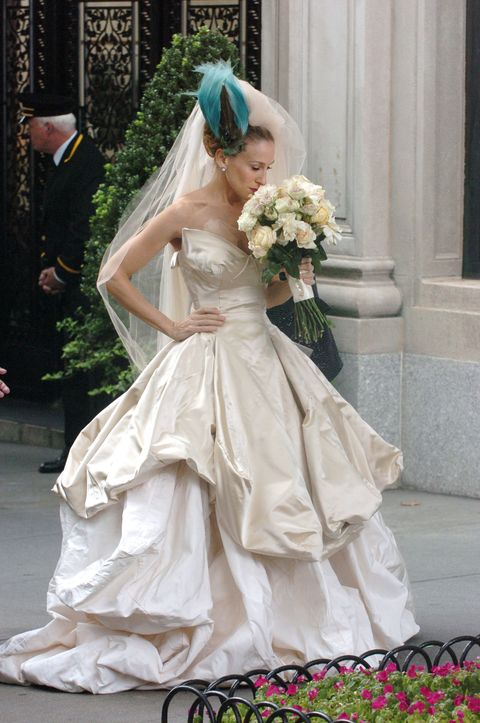 Sarah Jessica Parker Regrets Wearing Black Gown At Wedding To