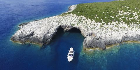 Pakleni Islands in Croatia