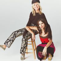 """<p><strong data-redactor-tag=""""strong"""" data-verified=""""redactor"""">What are your wardrobe MVPs?</strong></p><p><strong data-redactor-tag=""""strong"""" data-verified=""""redactor"""">NJ:</strong> Vintage dresses and fun flats!&nbsp&#x3B;</p><p><strong data-redactor-tag=""""strong"""" data-verified=""""redactor"""">LF:</strong> Rings, gold hoops, baseball caps, wrangler jeans, converse and vans.</p><p><em data-redactor-tag=""""em"""" data-verified=""""redactor""""><br></em></p><p><em data-redactor-tag=""""em"""" data-verified=""""redactor"""">On Natalie: Roberto&nbsp&#x3B;Cavalli&nbsp&#x3B;pants,&nbsp&#x3B;<span class=""""redactor-invisible-space"""" data-redactor-tag=""""span"""" data-redactor-class=""""redactor-invisible-space"""" data-verified=""""redactor"""" style=""""background-color: initial&#x3B;"""" rel=""""background-color: initial&#x3B;"""" data-redactor-style=""""background-color: initial&#x3B;"""">Vans</span>&nbsp&#x3B;shoes, Michael Kors Collection</em><span class=""""redactor-invisible-space"""" data-redactor-tag=""""span"""" data-redactor-class=""""redactor-invisible-space"""" data-verified=""""redactor"""" style=""""background-color: initial&#x3B;"""" rel=""""background-color: initial&#x3B;"""" data-redactor-style=""""background-color: initial&#x3B;""""><em data-redactor-tag=""""em"""" data-verified=""""redactor""""> sweater, and her own hat&#x3B; On&nbsp&#x3B;Langley: Salvatore&nbsp&#x3B;Ferragamo&nbsp&#x3B;dress and&nbsp&#x3B;Rachel Comey&nbsp&#x3B;shoes.&nbsp&#x3B;</em><span class=""""redactor-invisible-space"""" data-verified=""""redactor"""" data-redactor-tag=""""span"""" data-redactor-class=""""redactor-invisible-space""""></span></span></p>"""